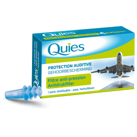Quies EarPlanes Bouchons Avion - Adulte