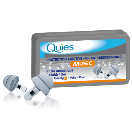 Quies Music -15dB - Protection Auditive Filtres Acoustiques