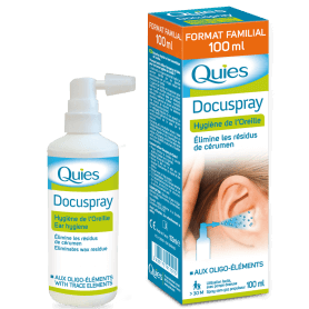 Spray auriculaire Quies Docuspray - 100 ml