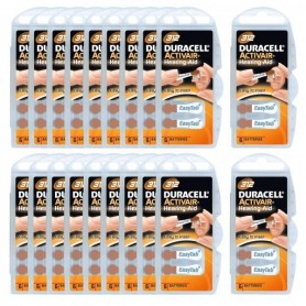 Piles Auditives Duracell 312 - lot Vingt
