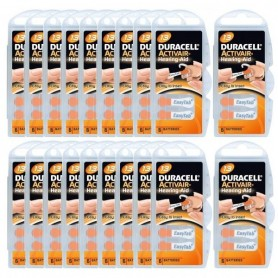 duracell 13 piles auditives