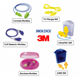 Pack moldex 3M Complet