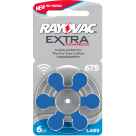 Piles Auditives Rayovac 675 Premium
