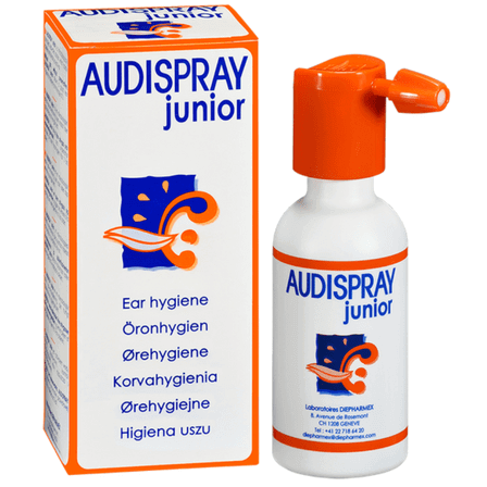 audispray junior hygiene oreille
