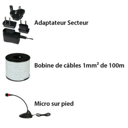 Boucle d'Induction Magnétique Geemarc Loop Hear 160
