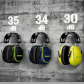 Casque antibruit Moldex M5 SNR 34dB