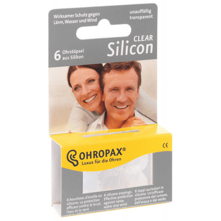 Ohropax Bouchons silicone multi usage 3 paires