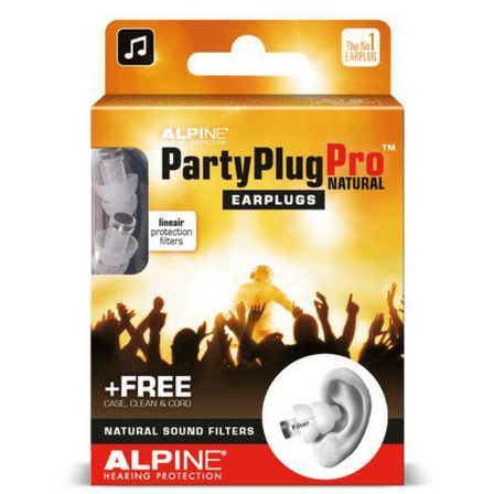 PartyPlug Pro, les protections auditives professionnel d'Alpine