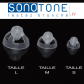 Lot 5 Domes de rechange pour Amplificateur Sonotone