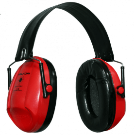 Casque anti bruit Peltor Bull Eye 1 rouge