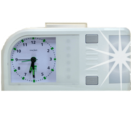 humantechnik reveil flash time flash blanc
