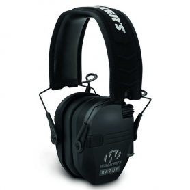 Razor 2 micros Walker's casque anti bruit protection auditive noire
