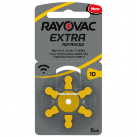 Piles Auditives Rayovac 10 (PR70)