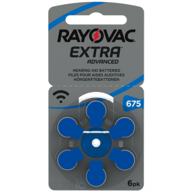 piles auditives Rayovac 675 extra advanced