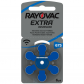 Piles auditives Rayovac 675