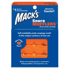 Mack's Snore Mufflers : Bouchons anti ronflement