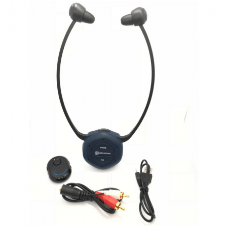 Casque TV Bluetooth amplifié (stéréoscopique ou induction)