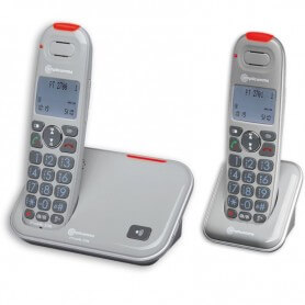 Powertel 2702 Duo Amplicomms telephone senior