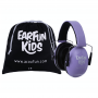 casque antibruit violet