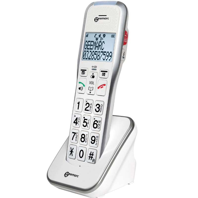 téléphone senior Geemarc amplidect 595 ULE additionnel