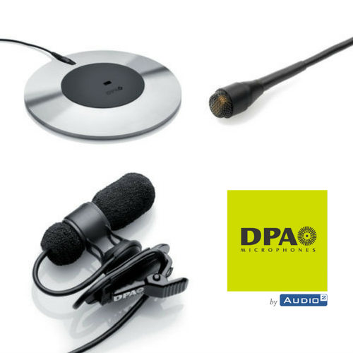 DPA microphones Audio2 France
