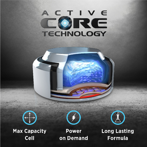 Nouvelle Technologie Rayovac Active Core